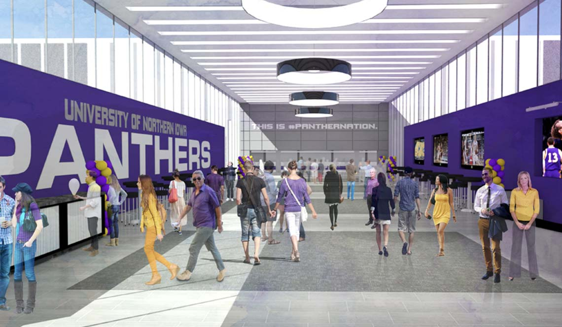 Basketball Practice Facility - Rendering 10