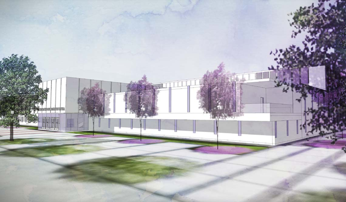 Basketball Practice Facility - Rendering 12
