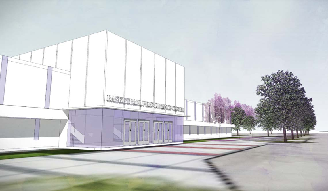 Basketball Practice Facility - Rendering 13