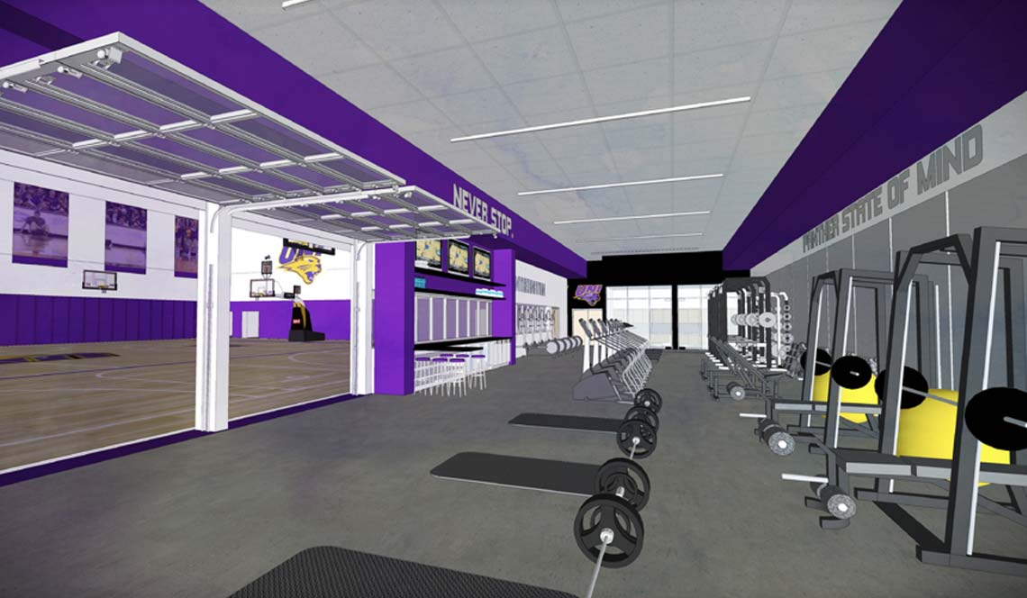 Basketball Practice Facility - Rendering 6