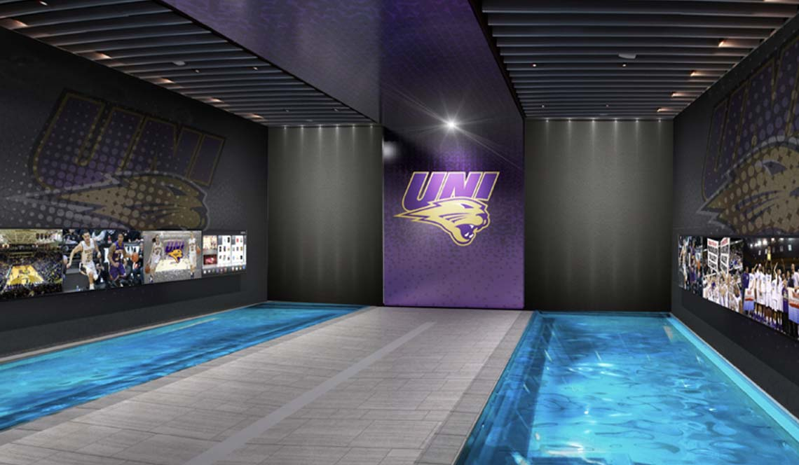 Basketball Practice Facility - Rendering 8
