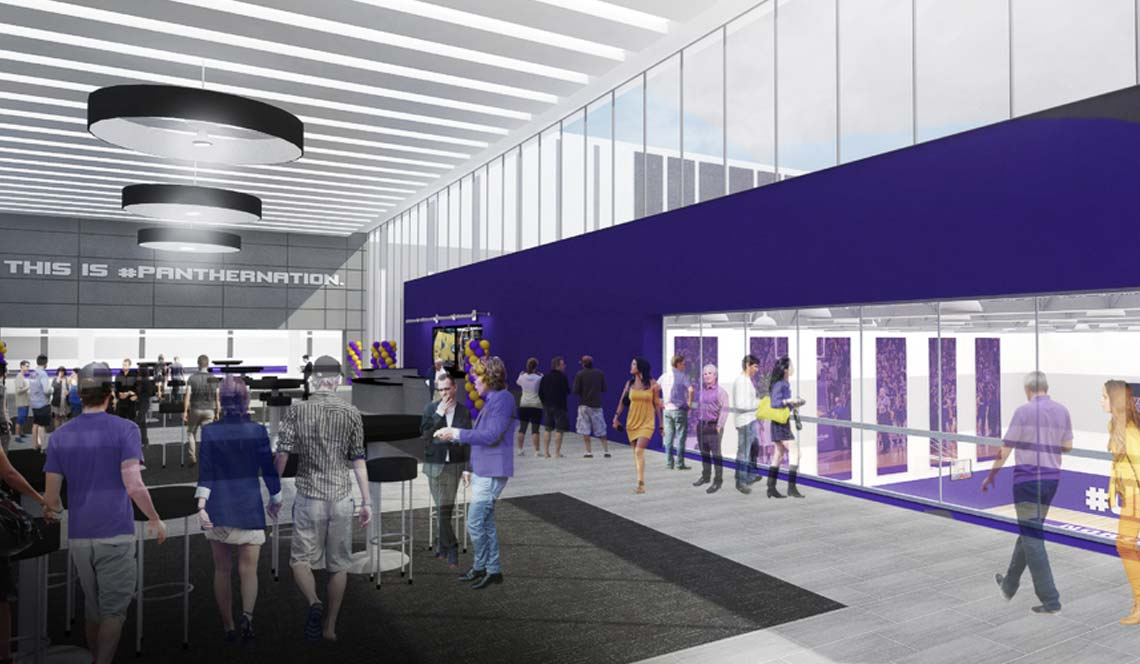 Basketball Practice Facility - Rendering 9