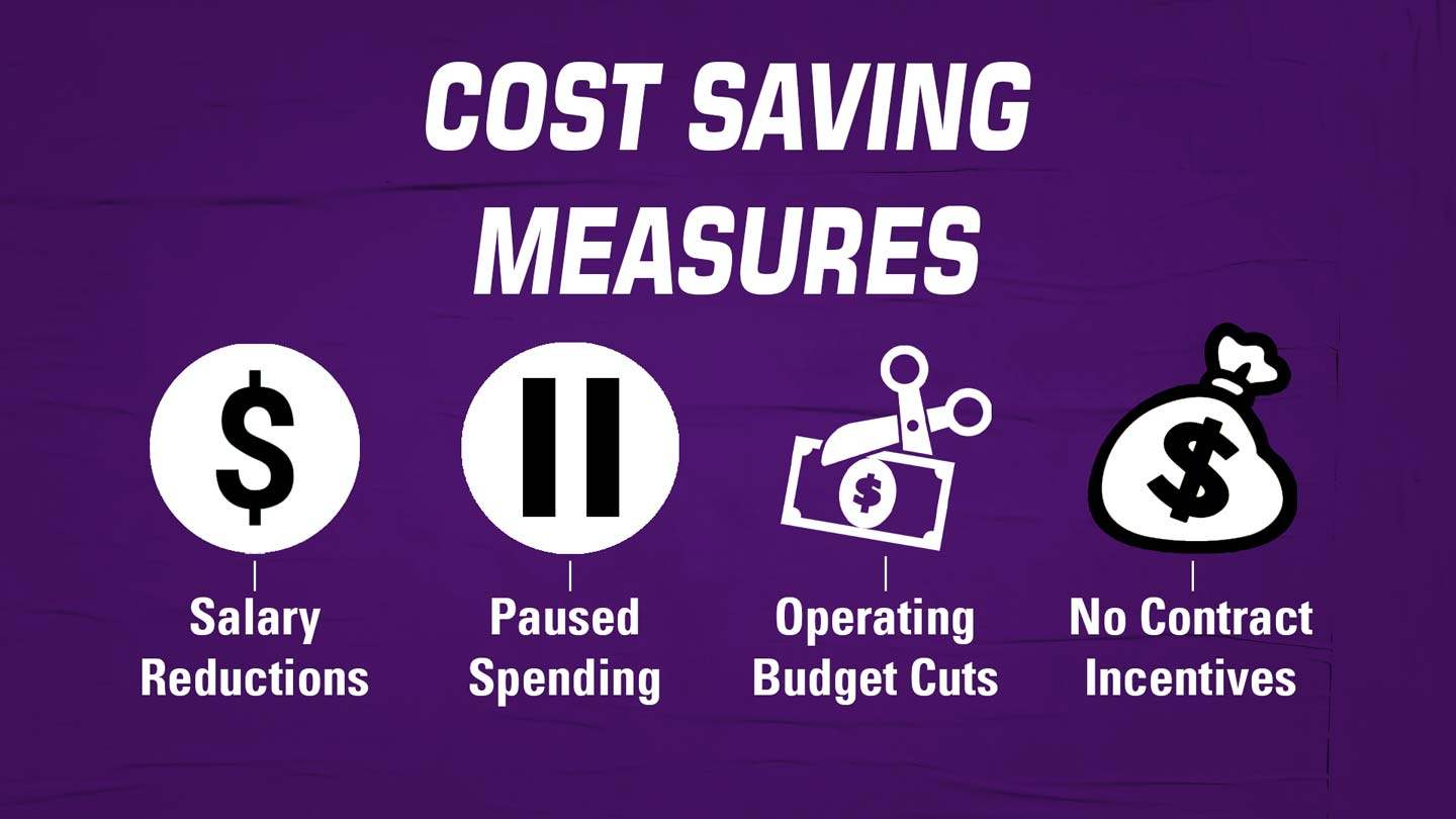 Cost Saving Measures graphic
